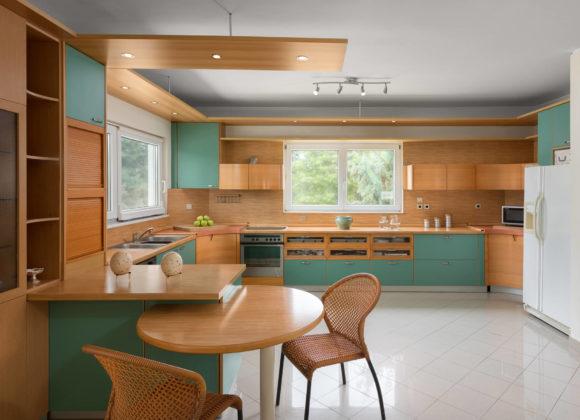 city mansion kitchen