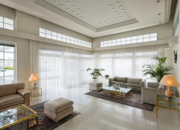 city mansion living room